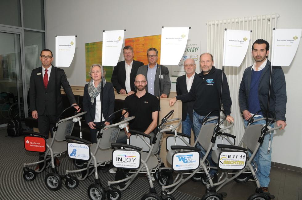 Mehr Mobilität im Borromäus Hospital