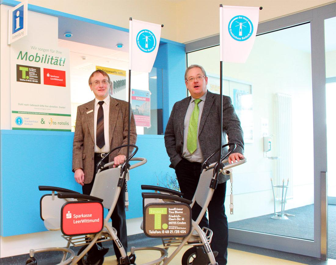 Mehr Mobilität für Patienten und Gäste des Inselkrankenhauses