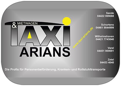 Taxi u. Mietwagen Arians