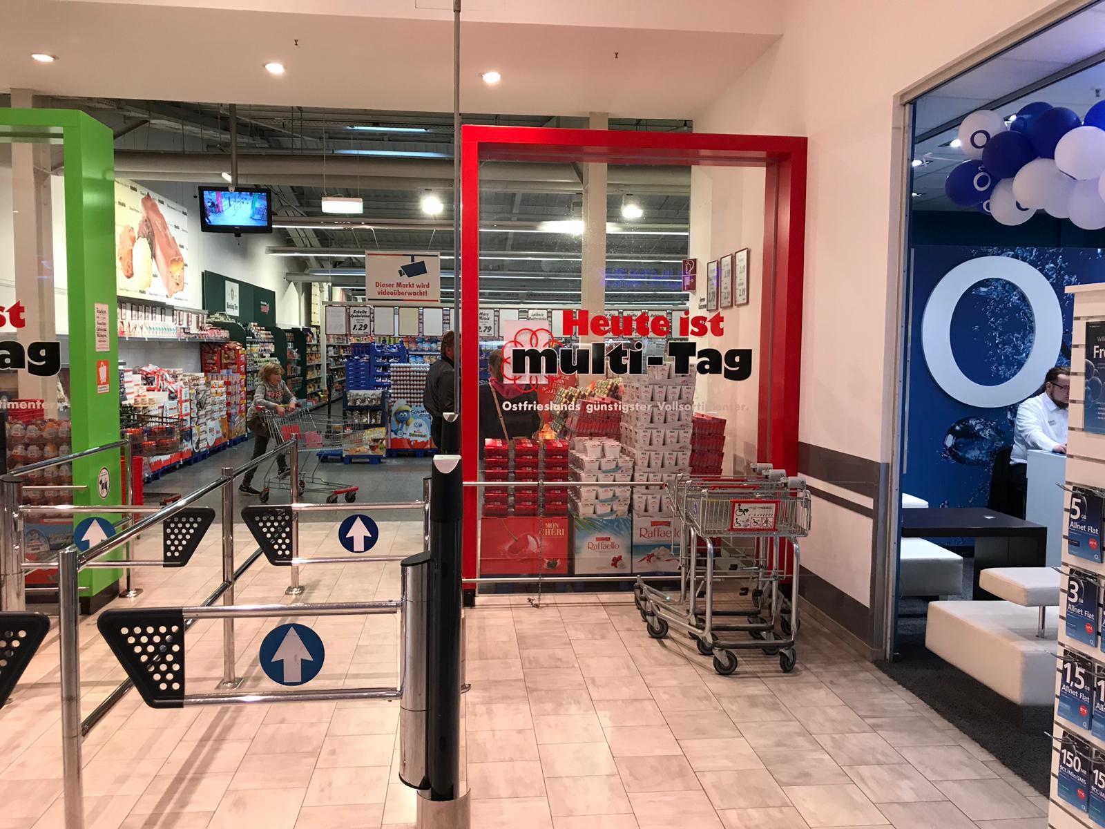 Erster Kooperationspartner im Einzelhandel
