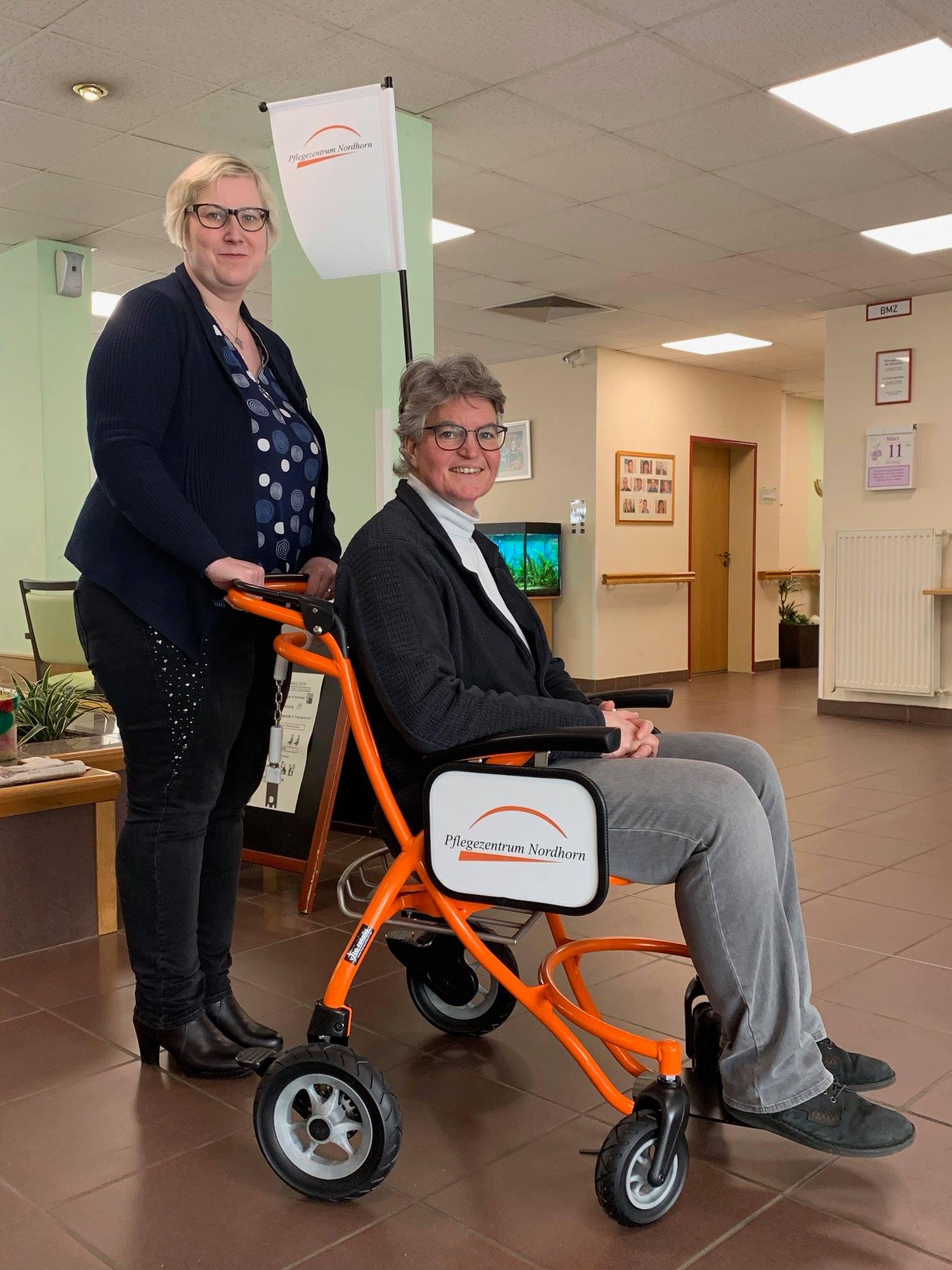 Erstes Pflegezentrum nutzt unsere Transportstühle