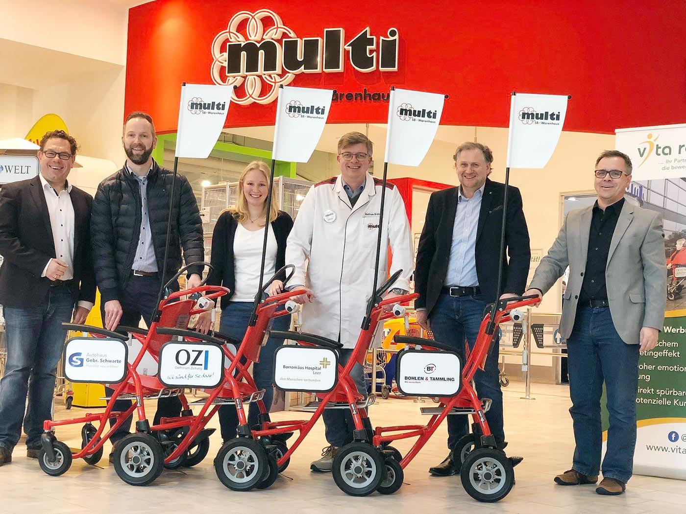 Deutschland-Premiere: multi bietet neue Mobilitätshilfe für Kunden