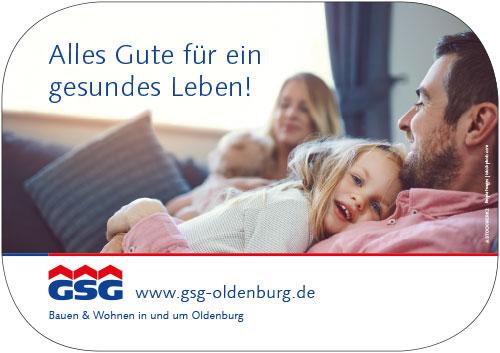 GSG OLDENBURG Bau- und Wohngesellschaft mbH Logo